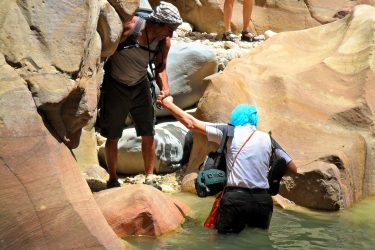 Wandelreis Jordanië: Jerash, kloven, Petra & Wadi Rum | Snow Leopard (40)