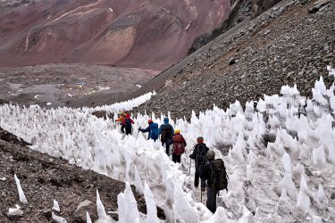 Aconcagua 6962m Expeditie Argentinië klimtocht | Snow Leopard (10)