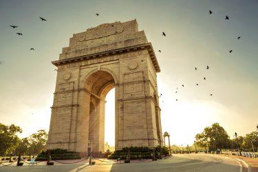 Expeditie Kang Yatse II (6250m) India gate. New Delhi