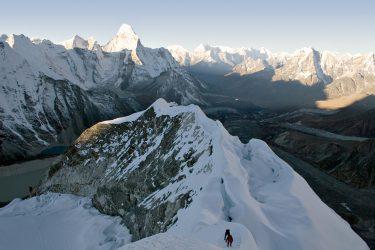 Expeditie trektocht Island Peak 6189m Imja Tse Nepal | Snow Leopard (2)