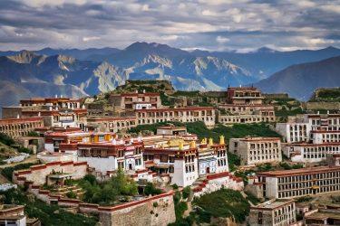 Reis Tibet Lhasa Potala Shigatse Gyantse Everest cultuur trektocht   Snow Leopard (19)