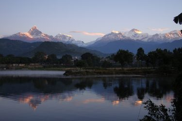 Trektocht Rond de Dhaulagiri Nepal | Snow Leopard (50) fishtail pokhara