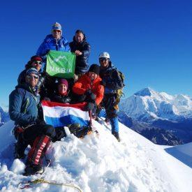 Nepal | Yalung Ri en Langdak (6.220m) | NKBV mini Expeditie | Snow Leopard (28)