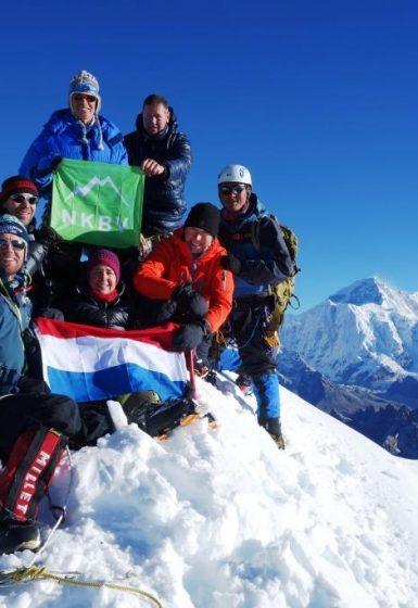 Nepal   Yalung Ri en Langdak (6.220m)   NKBV mini Expeditie   Snow Leopard (28)