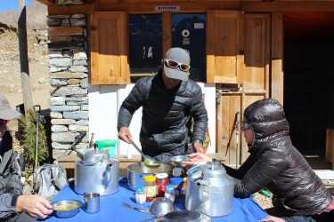 Expeditie Beklimming Chulu Far East top Annapurna Manang Nepal   NKBV mini expeditie   Snow Leopard (11)