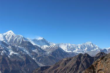 Expeditie Beklimming Chulu Far East top Annapurna Manang Nepal   NKBV mini expeditie   Snow Leopard (16)