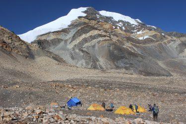 Expeditie Beklimming Chulu Far East top Annapurna Manang Nepal   NKBV mini expeditie   Snow Leopard (18)