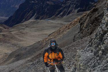 Expeditie Beklimming Chulu Far East top Annapurna Manang Nepal   NKBV mini expeditie   Snow Leopard (19)