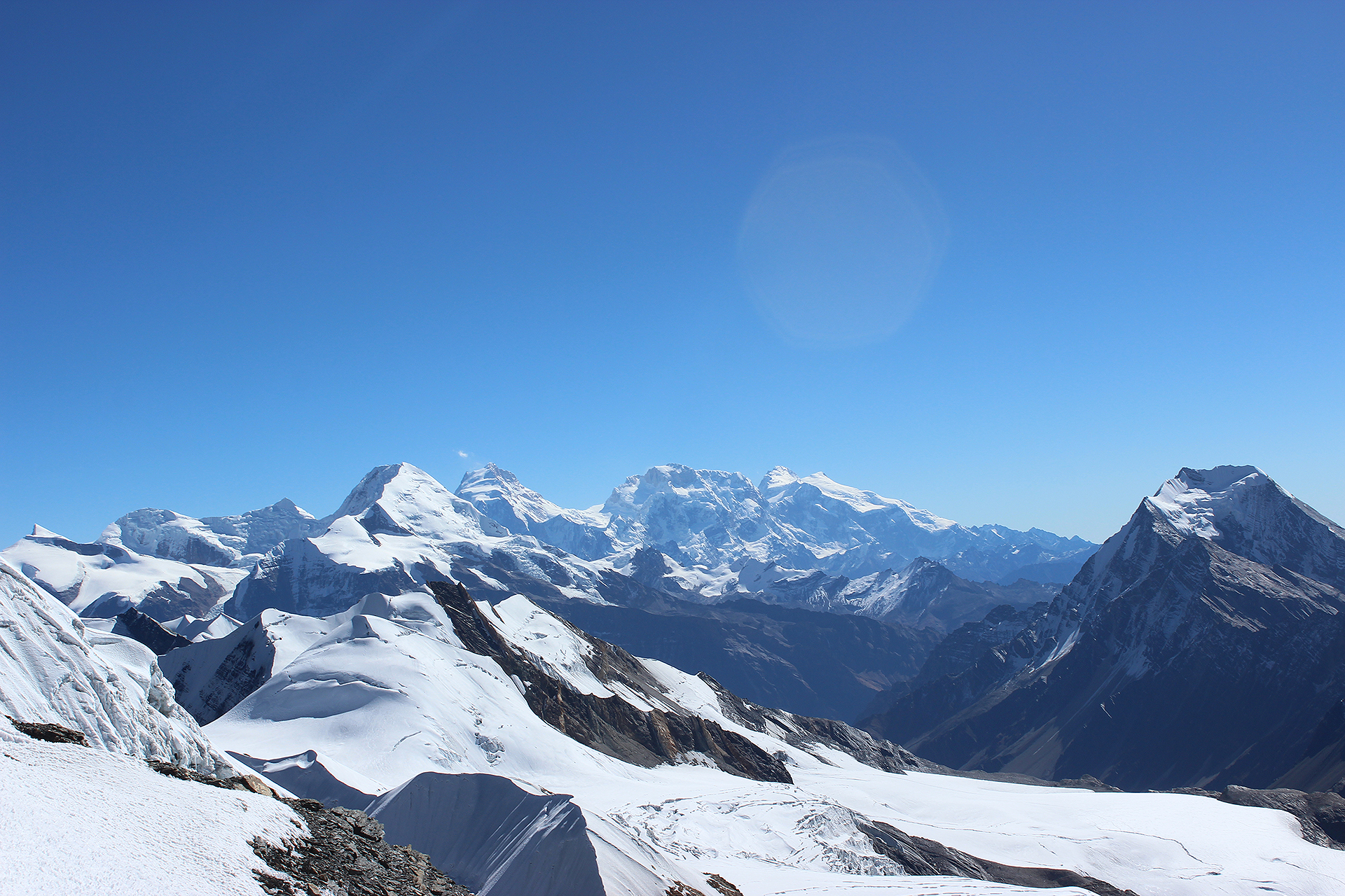 Expeditie Beklimming Chulu Far East top Annapurna Manang Nepal   NKBV mini expeditie   Snow Leopard (21)