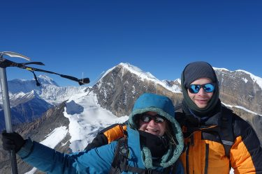 Expeditie Beklimming Chulu Far East top Annapurna Manang Nepal   NKBV mini expeditie   Snow Leopard (22)