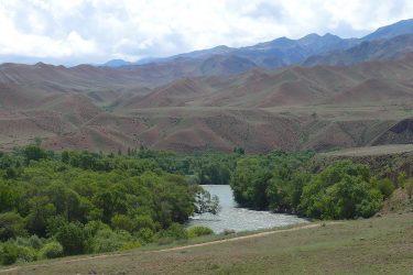 Aktieve reis Issy Kul Hemelse Bergen Bishkek Kirgizië of beklim Peak Lenin   Snow Leopard 01