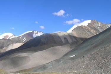 Aktieve reis Issy Kul Hemelse Bergen Bishkek Kirgizië of beklim Peak Lenin   Snow Leopard 19