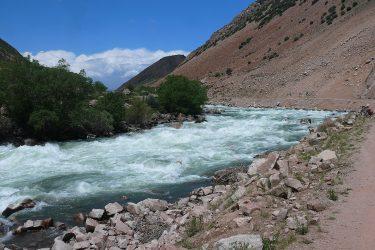 Aktieve reis Issy Kul Hemelse Bergen Bishkek Kirgizië of beklim Peak Lenin   Snow Leopard 04