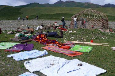 Aktieve reis Issy Kul Hemelse Bergen Bishkek Kirgizië of beklim Peak Lenin   Snow Leopard 08