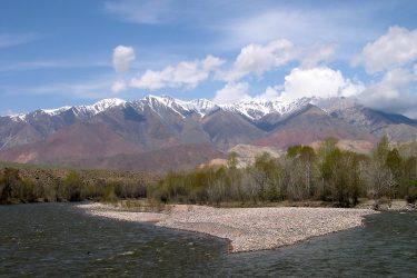 Aktieve reis Issy Kul Hemelse Bergen Bishkek Kirgizië of beklim Peak Lenin   Snow Leopard 09