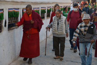 Bouddhanath rondlopen Nepal | Snow Leopard (77) Kathmandu
