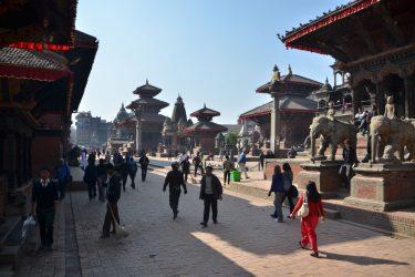 Bhaktapur Durbar Square Kathmandu Nepal | Snow Leopard