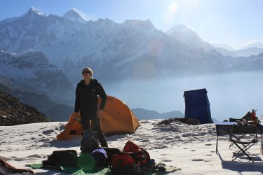 Mardi Himal trektocht en/of beklimming kort (Annapurna, Nepal) | Schmaal | Snow Leopard (13)
