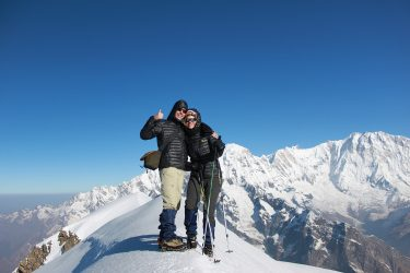 Mardi Himal top summit trektocht en/of beklimming kort (Annapurna, Nepal) | Schmaal | Snow Leopard (15)