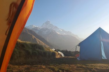 Mardi Himal trektocht en/of beklimming kort (Annapurna, Nepal) | Schmaal | Snow Leopard (5)
