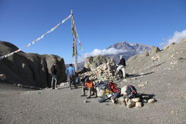 Trektocht alpiene beklimming expeditie - nepal - mustang - saribung (18)