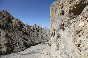 Trektocht alpiene beklimming expeditie - nepal - mustang - saribung (24)