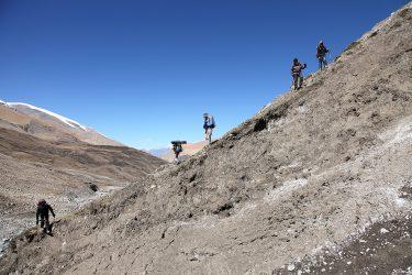 Trektocht alpiene beklimming expeditie - nepal - mustang - saribung (27)