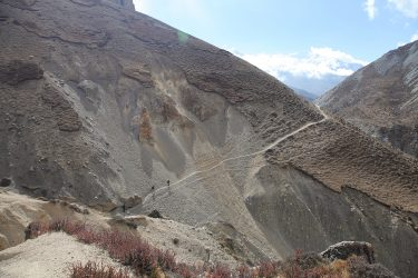 Trektocht alpiene beklimming expeditie - nepal - mustang - saribung (35)