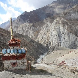 Trektocht alpiene beklimming expeditie - nepal - mustang - saribung(36)