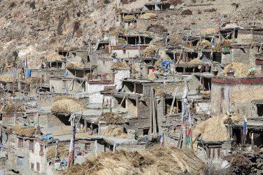 Trektocht alpiene beklimming expeditie - nepal - mustang - saribung (40)
