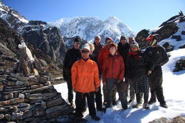 Trektocht Numbur Sherpagebied Everest Nepal | Snow Leopard (65) groep