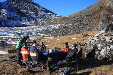 Trektocht Numbur Sherpagebied Everest Nepal | Snow Leopard (74)