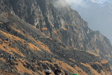 Trektocht Numbur Sherpagebied Everest Nepal | Snow Leopard (78)