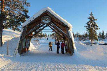 Sneeuwschoenwandelen reis Lapland Poolcircel Finland | Snow Leopard (01)