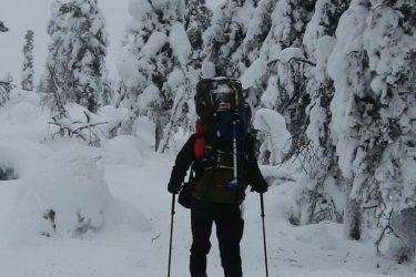 Sneeuwschoenwandelen reis Lapland Poolcircel Finland | Snow Leopard (23)