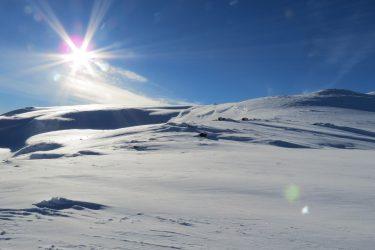 Sneeuwschoenwandelen reis Treriksrøysa Noorwegen | Snow Leopard (39)