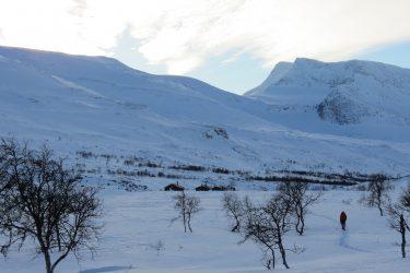 Sneeuwschoenwandelen reis Treriksrøysa Noorwegen | Snow Leopard (54)