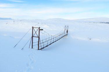 Sneeuwschoenwandelen reis Treriksrøysa Noorwegen | Snow Leopard (82)