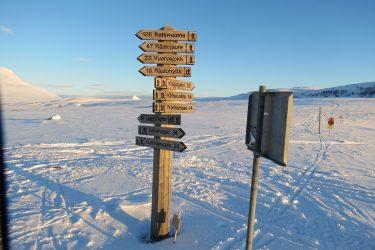 Sneeuwschoenwandelen reis Treriksrøysa Noorwegen | Snow Leopard (115)
