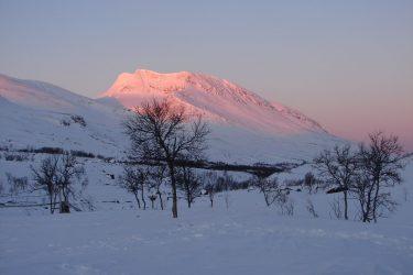Sneeuwschoenwandelen reis Treriksrøysa Noorwegen | Snow Leopard (173)
