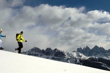 Sneeuwschoenwandelen in de Dolomieten (20)