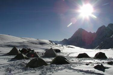 Trektocht Mt Everest Kangshung Lhasa Rongbuk Tibet | Snow Leopard 37