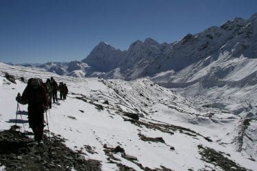 Trektocht Mt Everest Kangshung Lhasa Rongbuk Tibet | Snow Leopard 40