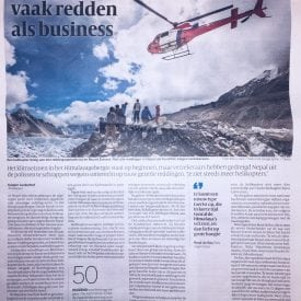 Volkskrant nepal helicopter rescue schandaal