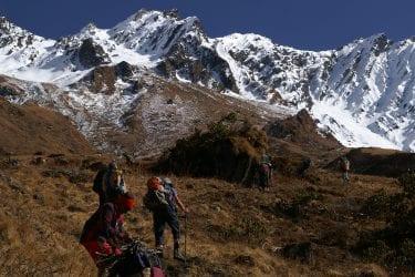 Trektocht Api Himal Far West Nepal Basiskamp Seti | Snow Leopard 025