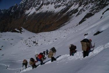 Trektocht Api Himal Far West Nepal Basiskamp Seti | Snow Leopard 015