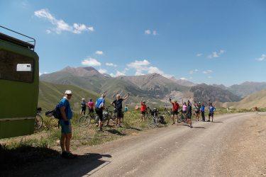 Kirgizië - Issy Kul Hemelse Bergen - fietsreis 2019 (11)   Snow Leopard