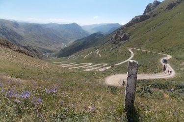 Kirgizië - Issy Kul Hemelse Bergen - fietsreis 2019 (12)   Snow Leopard