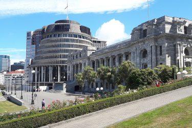 40 Wellington Parliament - NZ Nieuw-Zeeland - indiv autorondreis   Snow Leopard