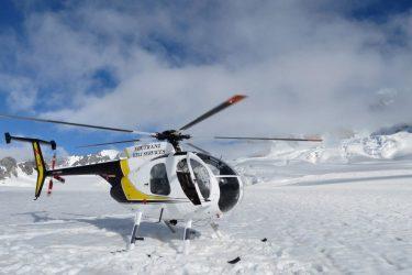 55 Fox Glacier Heli's - NZ Nieuw-Zeeland - indiv autorondreis   Snow Leopard